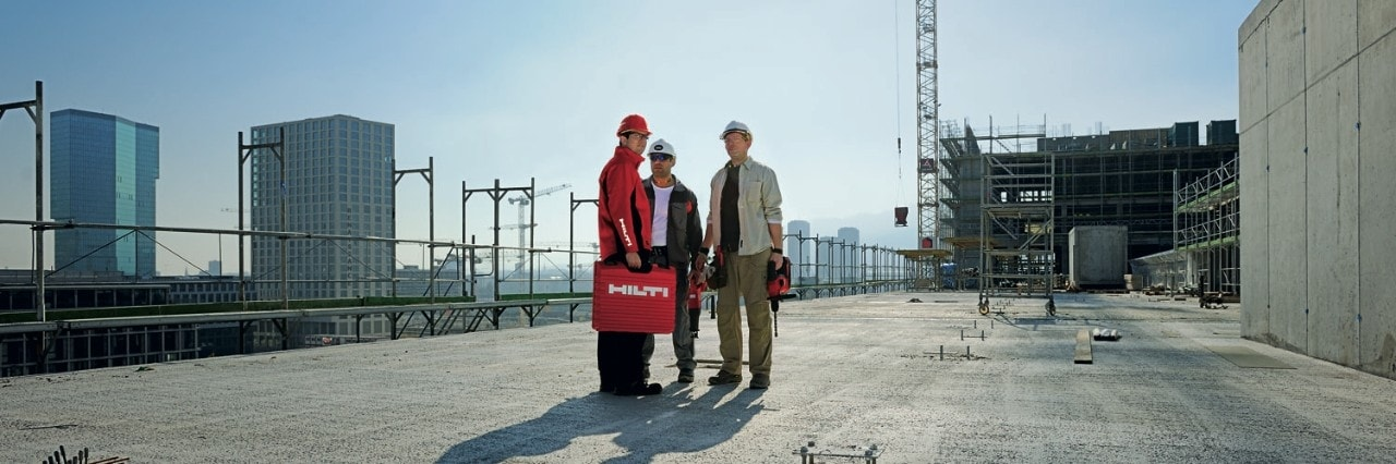 Contact a Hilti engineer