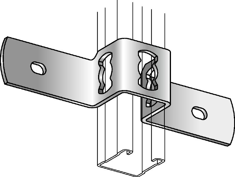 MQB Clamp (channel to concrete)