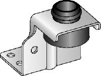 MVA-Z Galvanized air duct bracket for fastening light ventilation ducts overhead